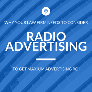 law firm radio advertising