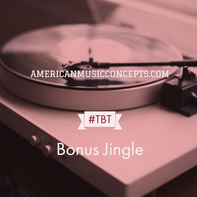 Throw Back Thursday Bonus Jingle