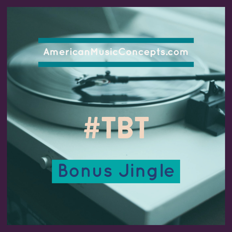 Throw Back Thursday - Bonus Jingle - Dr. Phipps