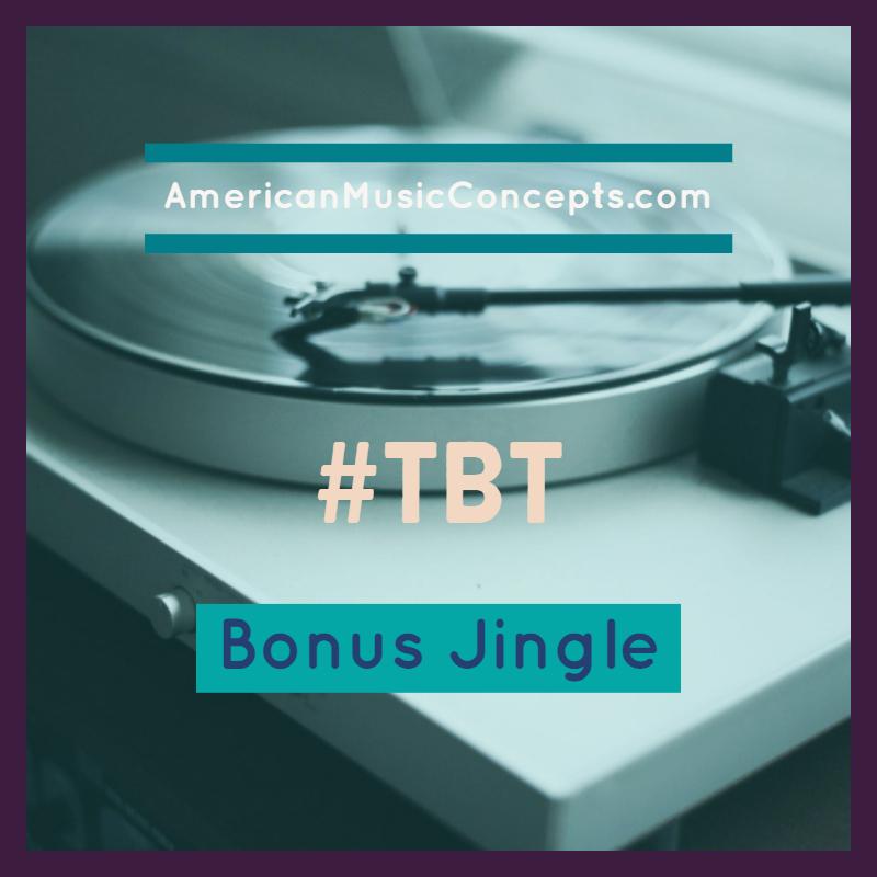 Throw Back Thursday - Bonus Jingle - Dr. Phipps